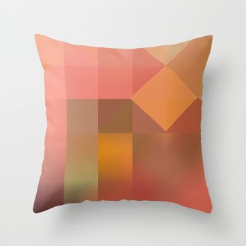 Inner Light Throw Pillow by mirimo