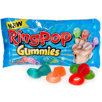 Ring Pop Gummies Candy Packs: 16-Piece Box