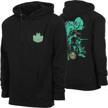 Creature Fish & Game Hoodie - black - Free Shipping