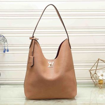 *Louis Vuitton * Women Leather Handbag Crossbody Shoulder Bag