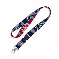 U.S. Soccer National Team Lanyard- Navy/Red
