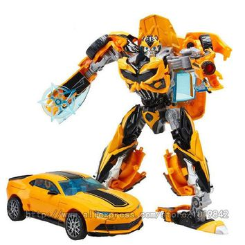WEI JIANG NEW Anime movie 5 Transformation bat Toys Alloy Action Figure Robot Car Cool Aircraft Tank Military Model Boy Kids Toy