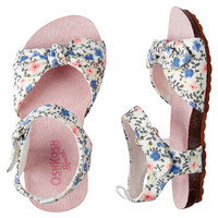 OshKosh Floral Sandals