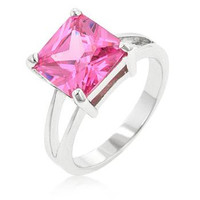 Pink Ice Gypsy Ring, size : 09