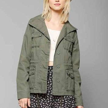Ecote Classic Surplus Jacket- Bright Green