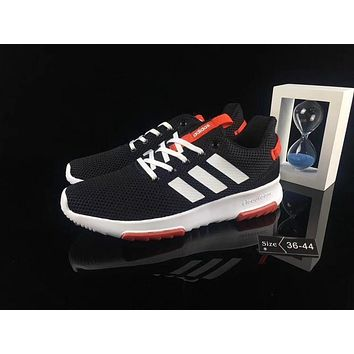 Best Deal Online Adidas NEO CF RACER TR W Men Women Running Shoes White Black Red