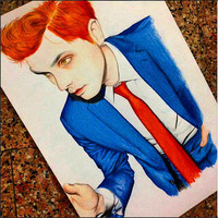 Gerard way portrait