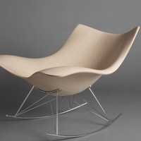 Mjölk : Sting ray rocking chair by Thomas Pedersen - sting ray web