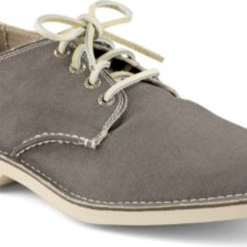 Sperry Top-Sider Cloud Logo Harbor Canvas Oxford Gray, Size 12M  Men's