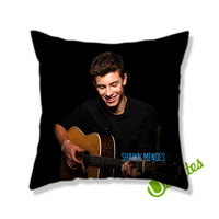The Shawn Mendes AR Square Pillow Cover