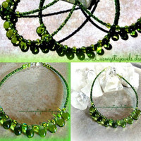 4 Green Anklet Bracelets, Bridemaids Jewelry,Bridemaids Gifts, BBF Jewelry,Direct Checkout