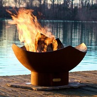 Fire Pit Art MR Manta Ray Patio Fire Pit - Outdoor Living Showroom