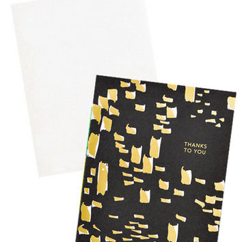 Foil Flecks Thank You Card Set