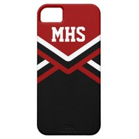 Red Cheer Uniform Iphone 5/5s Case