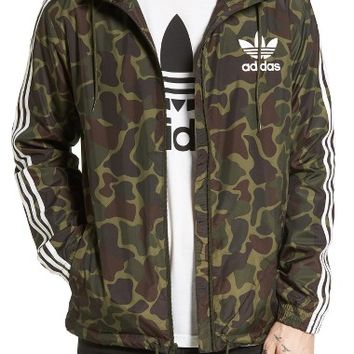 adidas Originals Camo Windbreaker | Nordstrom