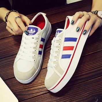 Adidas Casual Lace Up Canvas Shoes