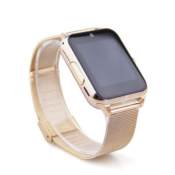 "Rose Gold Smart Watch Touch Screen Bluetooth 1.54"" HD iwatch"