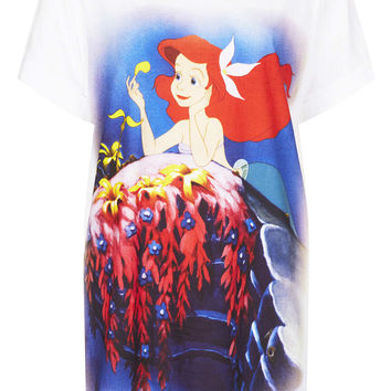Little Mermaid Print PJ Tee - New In This Week - New In - Topshop USA