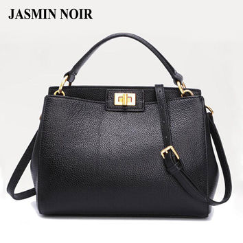 2016 Fashion new Women Leather Handbags Litchi cat ladies messenger bag crossbody bag Brand designer tote bag bolsos mujer de