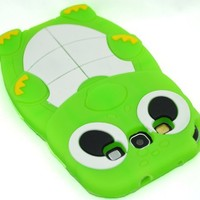 Turtle Silicone Skin Case Cover for Samsung Galaxy S III S3 I9300 Green