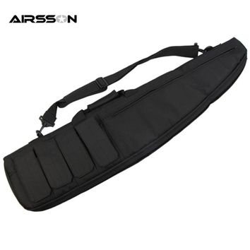 Airsson Waterfroof Tactical Holsters Gun Bag Case Air Rifle Case Shoulder Pouch Hunting Carry Bags Long Gun Protection Carrier