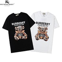 2020 new luxury brand Medusa male design fashion men and women top couple casual T-shirt high-grade cotton shirt couple wear wear13-Burberry