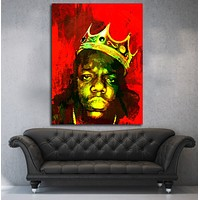 Biggie Smalls Luke Cage Inspired Wall Art Canvas The Notorious B.I.G.