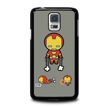 iron man kawaii marvel avengers samsung galaxy s5 case cover  number 1