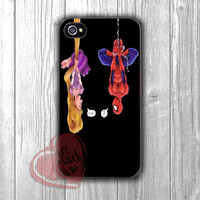 Hanging Spiderman Rapunzel - ddzz for iPhone 6S case, iPhone 5s case, iPhone 6 case, iPhone 4S, Samsung S6 Edge