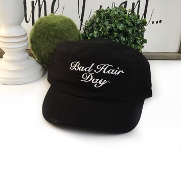 bad hair day cap - mama don't care hat | perfect mothers day gift