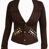 Switchblade Stiletto PUNK BLAZER- In Choice of Colors and Patterns