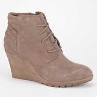 Mia Debra Womens Booties Taupe  In Sizes
