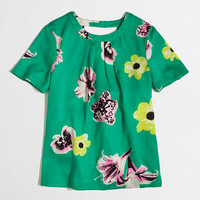 Factory printed cutaway top - blouses/tees - FactoryWomen's Shirts & Tops - J.Crew Factory