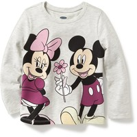 Disney© Mickey and Minnie Graphic Tee for Toddler | Old Navy