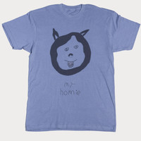 HUSKY GRAPHIC TEE - slim fit