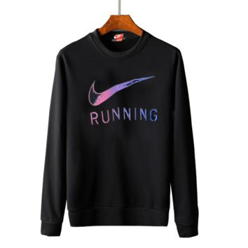 Nike round collar hoodie lovers and men's and women's leisure cotton long-sleeved t-shirts top G-A-GHSY-1