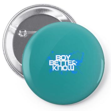 boy better know Pin-back button