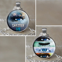 Shatter Me Inspired Pendant Necklace