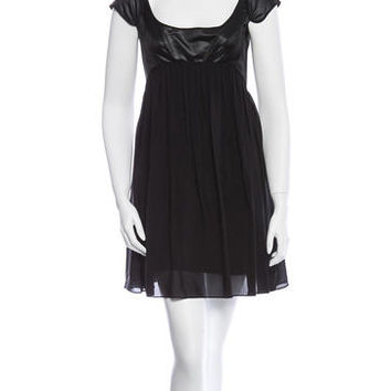 Narciso Rodriguez Silk Dress