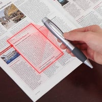 The Pen Sized Scanner - Hammacher Schlemmer