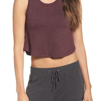 Make + Model All About It Shelf Bra Crop Tank | Nordstrom