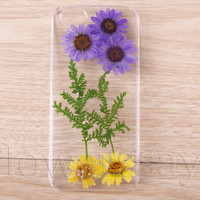iPhone 6 case iPhone 6 plus Pressed Flower, iPhone 5/5s case, iPhone 4/4s case,  5c case Galaxy S4 S5 Note 2 note 3 Real Flower case NO:F17