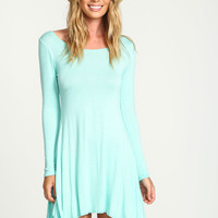 MINT SWING TEE KNIT DRESS