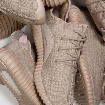 """Adidas"" Women Yeezy Boost Running Sneakers Sports Shoes Khaki"