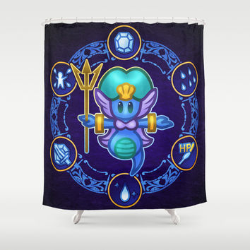 Undine Shower Curtain by Likelikes