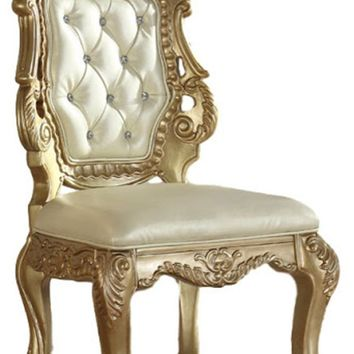 Bennito French Provincial Gold Dining Side Chair (set of 2)