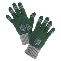 Slytherin™ Striped Gloves | Universal Orlando™