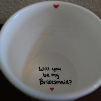 Will you be my Bridesmaid Coffee Mug, Bridesmaid Gift, Wedding Favors, Maid of Honor Gift, Engagement Gift, Will you be my Maid of Honor