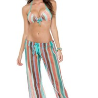 La Gloria Cubana Mesh Beach Pants