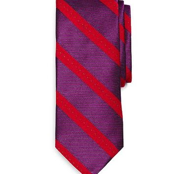 Pic Stitch Stripe Tie - Brooks Brothers